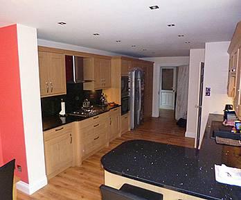 Kitchen Renovation/Garage Conversion